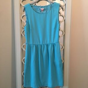 Turquoise J.Crew Dress